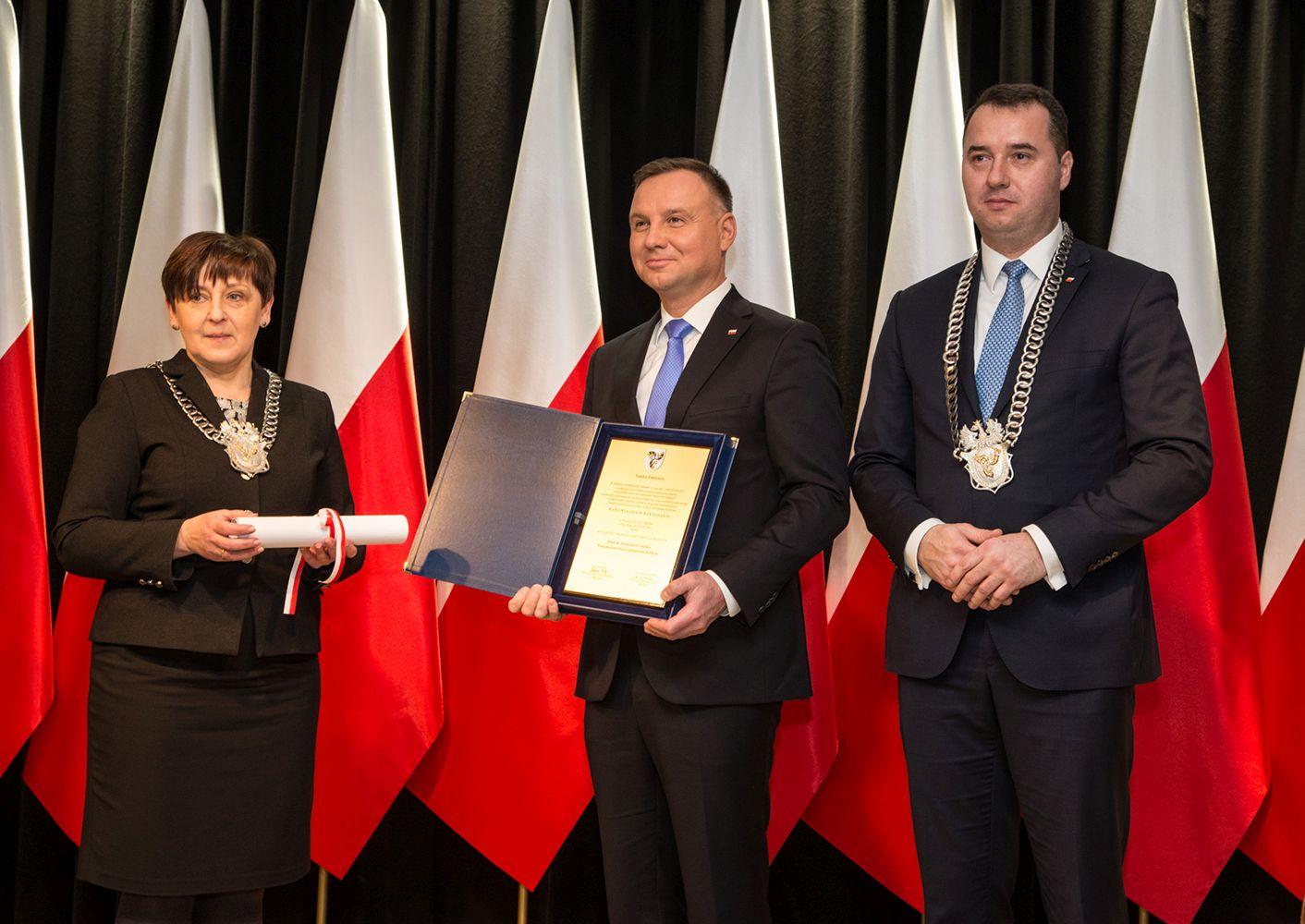 Prezydent RP Andrzej Duda w Zakliczynie